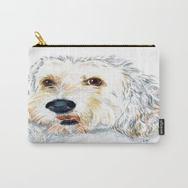 Labradoodle Maggie 2 Carry-All Pouch