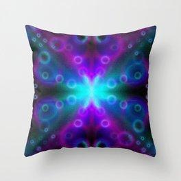 Bubbles Bokeh Effect G123 Throw Pillow