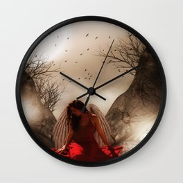 thinking it over Wall Clock