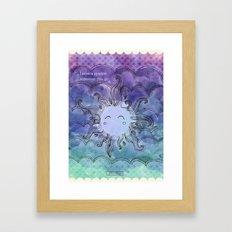Sparkles Framed Art Print