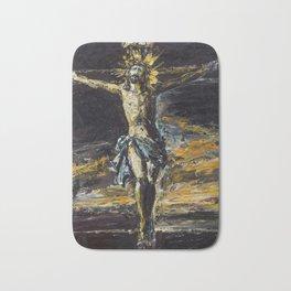 Santo Cristo de La Agonía. Limpias. Cantabria Bath Mat