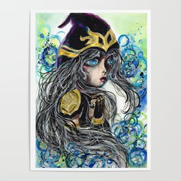 League of Legends Ashe Classic Poster
