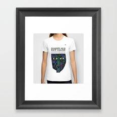 Vonnegut - Canary in a Cat House Framed Art Print