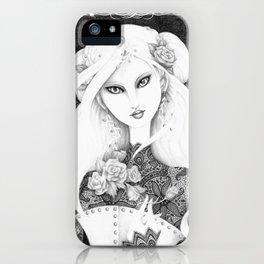 Midnight Rose iPhone Case