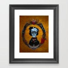 Poe in Color  Framed Art Print