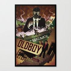 Oldboy [full color] Canvas Print