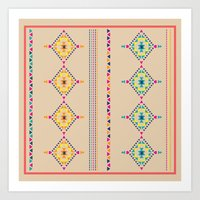 ethnic Art Prints featuring Ethnic by ShivaR