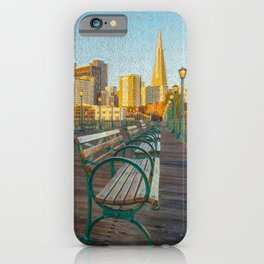 Pier 7- painting iPhone Case