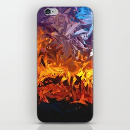 Decorative Abstract Sunset Design iPhone Skin