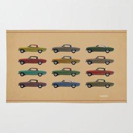 Five Studebakers Rug