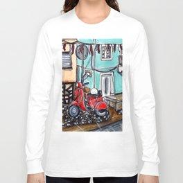 Vespa Street Long Sleeve T-shirt