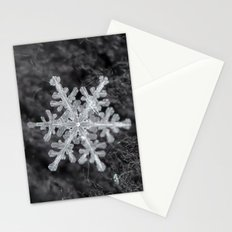 Snowflake Closeup #1 Stationery Cards