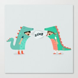 means 'I love you' Canvas Print