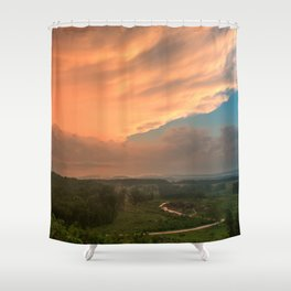 Devil's Den Divine Sunset Shower Curtain