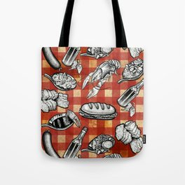 Cajun Food! Tote Bag