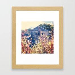 Hidden House. Framed Art Print