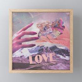 inlove Framed Mini Art Print