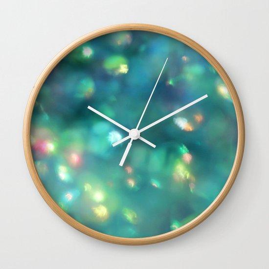 Jewels of the Sea Wall Clock