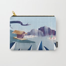 Polar Fish Carry-All Pouch