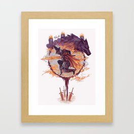 Abyss Watchers - Dark Souls 3 Framed Art Print