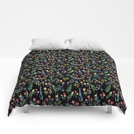 fairytale meadow pattern Comforters