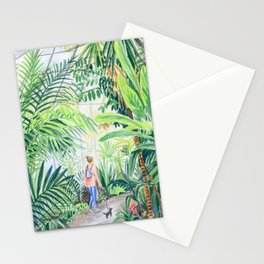 nice walk Stationery Cards