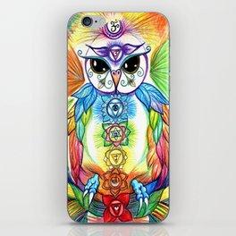 Chakra Owl iPhone Skin