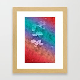 In the Fairy Wood Framed Art Print