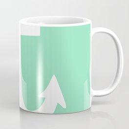 Anchor (White & Mint) Coffee Mug