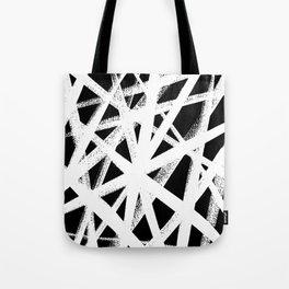 So Cross White Tote Bag