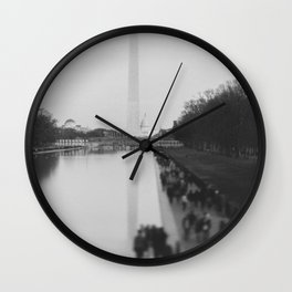 The National Mall II Wall Clock