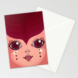 gypsy lady Stationery Cards