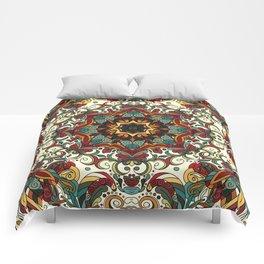 Boho Mandela Pattern 29 Comforters