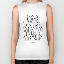 Quote,Inspirational Quote,Motivational Poster,Champagne Sign,Fashion Quote,Fashionista,Office Biker Tank