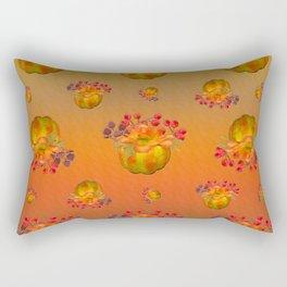 Fall Floral Squash Rectangular Pillow