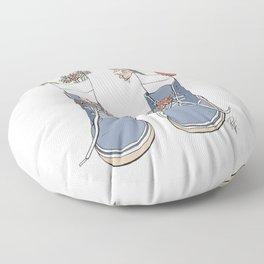 Boots Floor Pillow