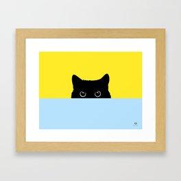 Kitty Gerahmter Kunstdruck