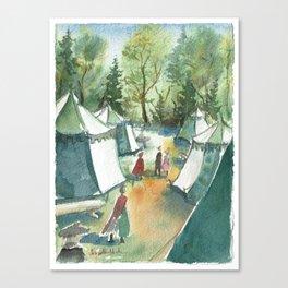 Ordo Cervi Camp 2017 Canvas Print