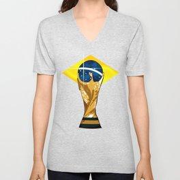 Brazil 2014 Unisex V-Neck