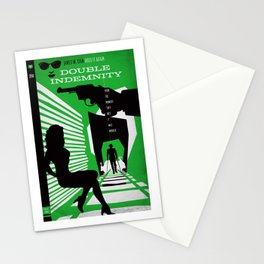 Hardboiled :: Double Indemnity :: James M. Cain Stationery Cards