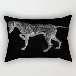 Dog Skeleton Rectangular Pillow