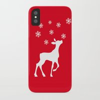 fawn iPhone & iPod Cases featuring fawn by Li-Bro
