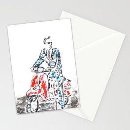 Cool Scooter Stationery Cards