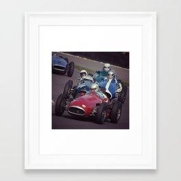 The Corner Framed Art Print