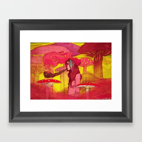 Chillout Framed Art Print