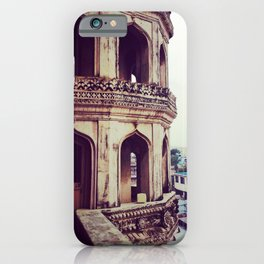 Vintage asian architecture - Streets of India iPhone Case