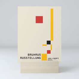 Vintage poster-Bauhaus Juli-sept 1923. Mini Art Print