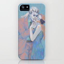 The Kiss, Shinobu Kawajiri with Kira Yoshikage iPhone Case