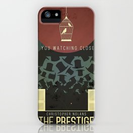 Are you watching closely iPhone Case