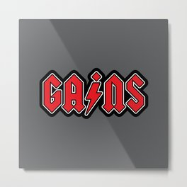 Hard Rock Gains Metal Print